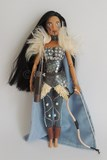 l archère the archer doll disney princess rpg armure légère combat arc archerie fantaisie bleu amusant pocahontas dolls customs Jenna Pan