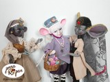 jenna pan dolls poupées faites main handmade création de personnages character design souris princesses mice mouse fairytale ooak doll art doll children child story artistique bratz bratzillaz barbie diy handmade tissus france fabric